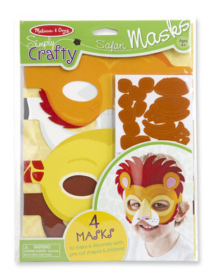 M&D - Simply Crafty - Safari Masks