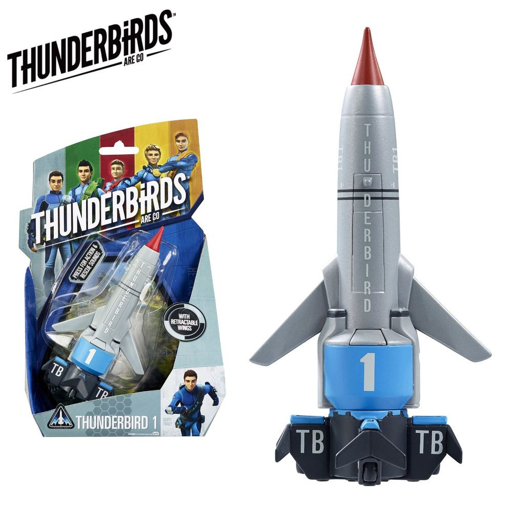 Thunderbirds Vehicle with Sound (Asst)
