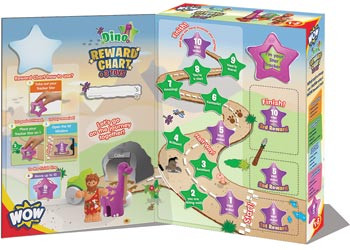 Wow Toys - Reward Chart - Dino