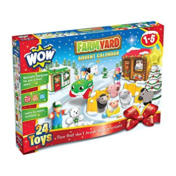 Wow Toys - Advent Calender Farmyard