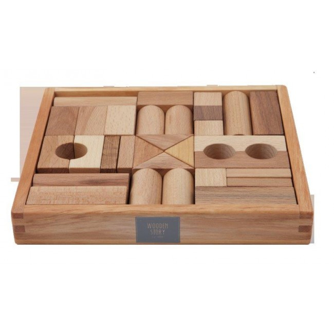 Wooden-Story-Blocks-(Natural)-30pcs