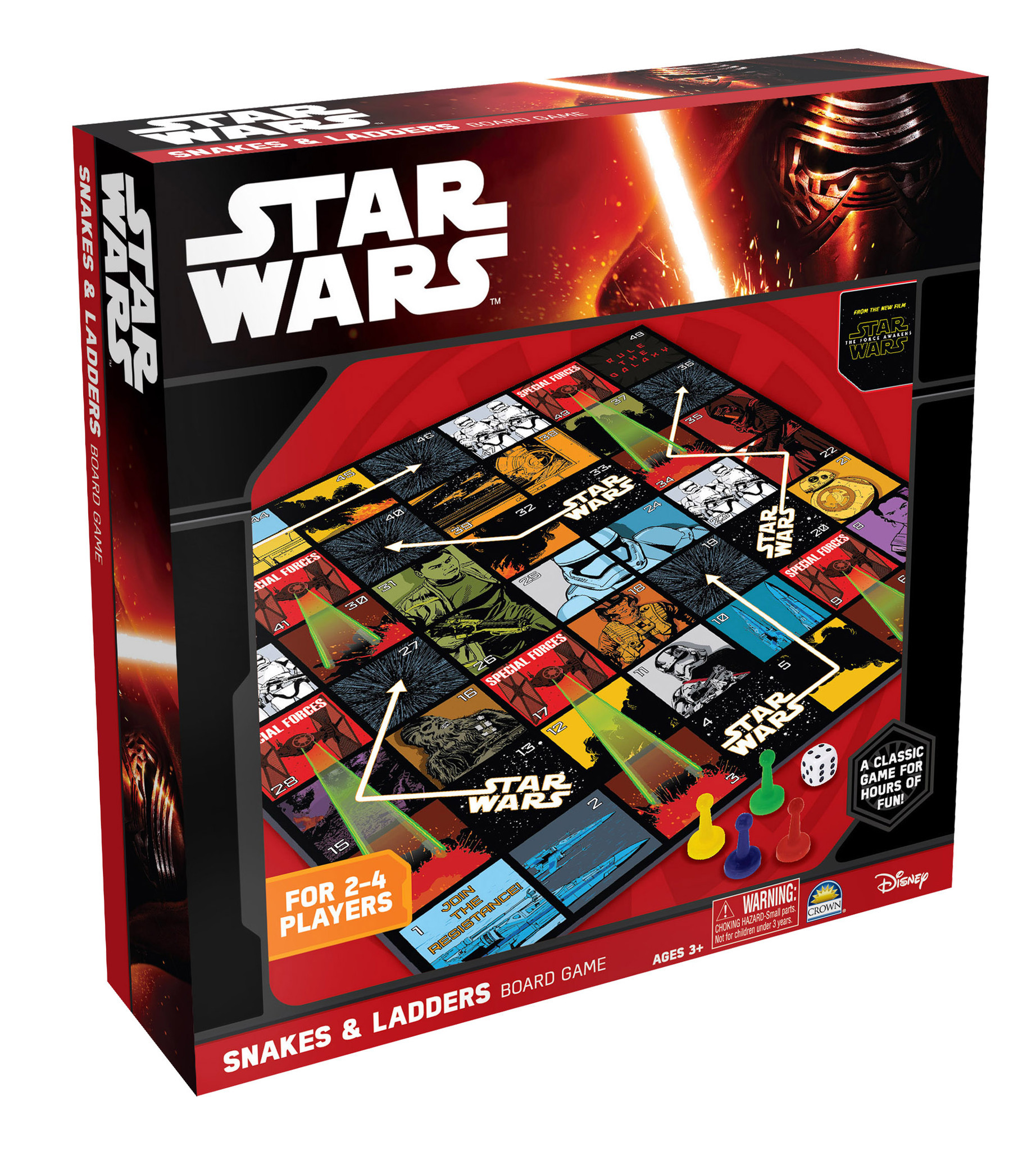 Star Wars The Force Awakens Snakes & Ladders