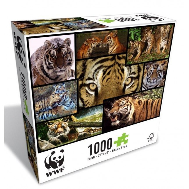 WWF-Tigers-1000pc-Puzzle