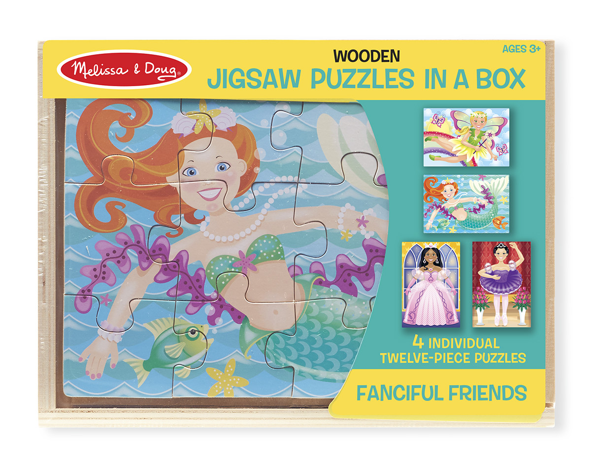 M&D - Fanciful Friends Puzzles in a Box