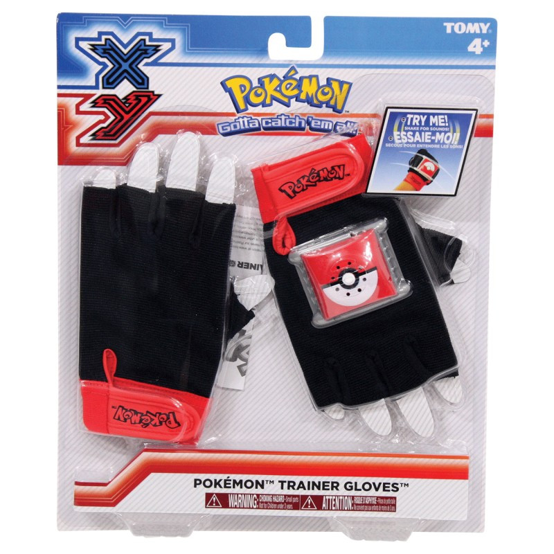 XY Pokemon Trainer Gloves with Sound Effects