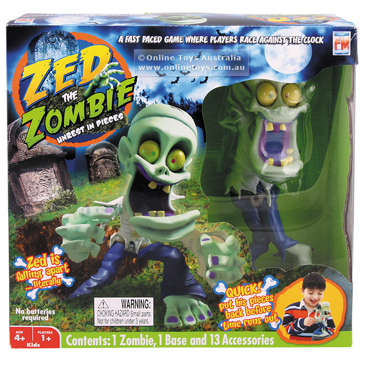 Zed The Zombie Game