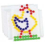 Small Mosaic Pegboards Pack of 10