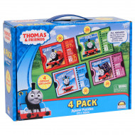 Thomas & Friends 4 Puzzles In Carry Box