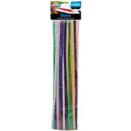 Stems 30cm x 6mm Assorted 25 Per Bag
