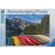 Ravensburger Mountain Canoes Puzzle 2000pc