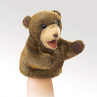 Folkmanis Little Brown Bear Puppet