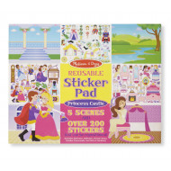 Melissa & Doug Reusable Castle Stickers