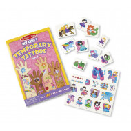 Melissa & Doug My First Temporary Tattoos Girl