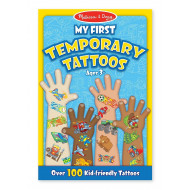 Melissa & Doug My First Temporary Tattoos Boy
