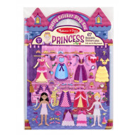 Melissa & Doug - Reusable Puffy Sticker Play Set - Princess