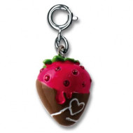 Charm It Chocolate Strawberry Charm