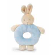 Ring Rattle Blue Bunny