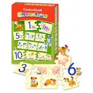 Castorland Numbers Puzzle Education E-050