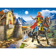 Castorland Knight & Princess Puzzle 120pc