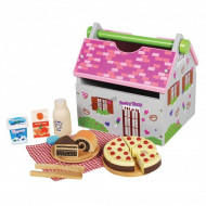 Santa Toy Box Bakery Set of 3