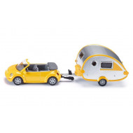 Siku Car with Caravan