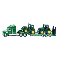 Siku Low Loader with John Deere 1:87