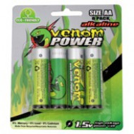 AA Alkaline Batteries 8pcs