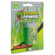 Venom 9 Volt Alkaline Single Pack