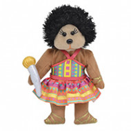 Beanie Kids Sasha the Afro Funk Bear