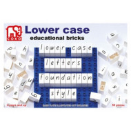 COKO Lowercase Letters 50pcs
