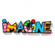 Britto Mini Decor Words Imagine