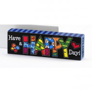 Britto Desk Block Happy