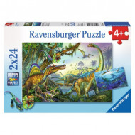 Rburg - Primeval Giants Puzzle 2x24pc