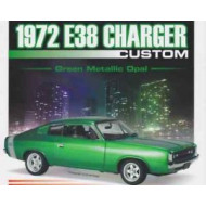 Classic Carlectables 1972 E38 Charger Custom Green Metallic Opal 1:18