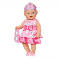 Baby Born Princess Dress with Tiara