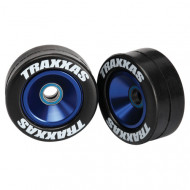 Traxxas Wheels, Aluminum (Blue Annodized)