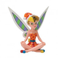 Britto Christmas Tinker Bell Mini Figurine 10cm