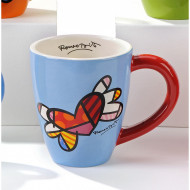 Britto Ceramic Mug Flying Heart