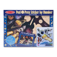 Melissa & Doug Peel & Press Sticker Space Mission