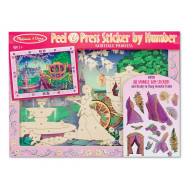 M&D - Peel & Press Sticker - Fairytale Princess