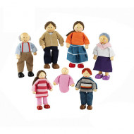 Kidkraft Doll Family of 7