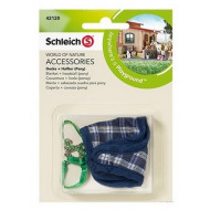 Schleich Blanket + Headstall (Pony) Navy