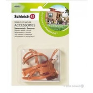 Schleich Western Saddle + Bridle