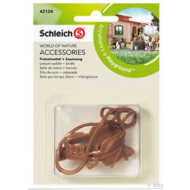 Schleich Leisure Saddle + Bridle
