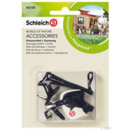 Schleich Dressage Saddle + Bridle