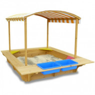 Lifespan Kids Playfort Large Sandpit with Canopy