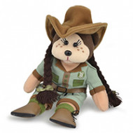 Beanie Kids Zoe the Zookeeper Bear