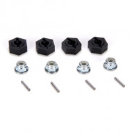 Losi 12mm Molded Hex Pins and Lock Nuts