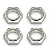 Nyloc Wheel Nuts Silver
