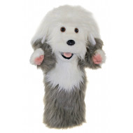 The Puppet Company Old English Sheep Dog Glove Puppet